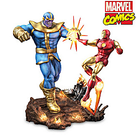 Iron Man Vs. Thanos Sculpture