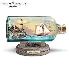 Thomas Kinkade Light Of Hope Sculpture