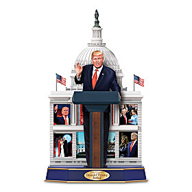 President Donald Trump Commemorative Talking Sculpture