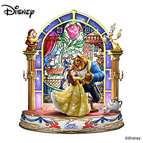 Disney Beauty And The Beast Sculpture