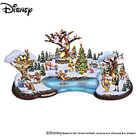 Disney All Together At Christmas Sculpture