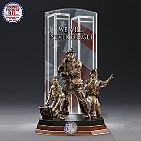 Heroes Of 9/11 Sculpture