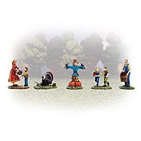 Thanksgiving Blessings Village Accessory Set