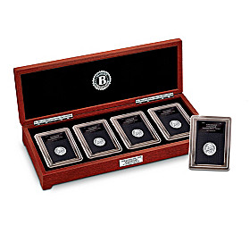 The Complete Set Of Wartime Silver Nickels Coin Set