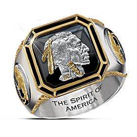 The Spirit Of America Ring