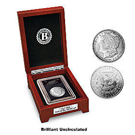 "The Last ""Original"" Morgan Silver Dollar Coin"