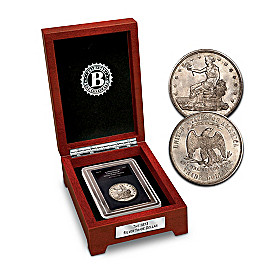 The First U.S. Trade Silver Dollar Coin