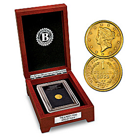 America's 1st $1 Gold Coin