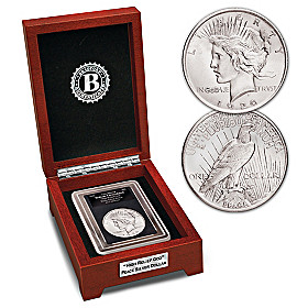 The Only High Relief God Silver Dollar Coin