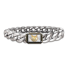 The Morgan Silver Ingot Men's Bracelet