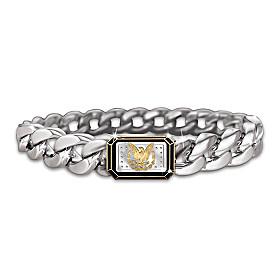 The Morgan Silver Ingot Men's Bracelet