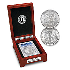 The Last Morgan Silver Dollar Coin