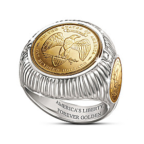 The George T. Morgan Lost Coin Ring