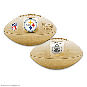 First-Ever Pittsburgh Steelers 3D NFL Coin