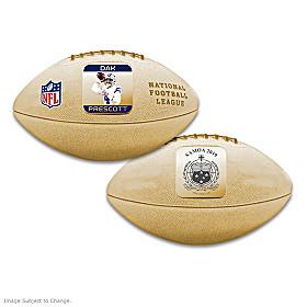 First-Ever Dak Prescott 3D NFL Coin