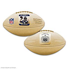 First-Ever Russell Wilson 3D NFL Coin