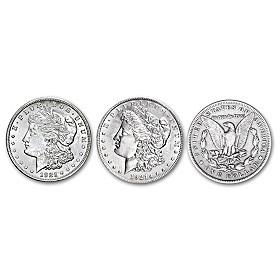 1921 Morgan Silver Dollar Coin Set