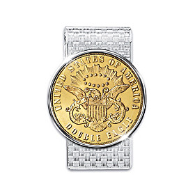 The 1849 Double Eagle Proof Money Clip