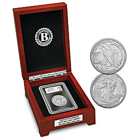 100th Anniversary Walking Liberty Silver Half Dollar Coin