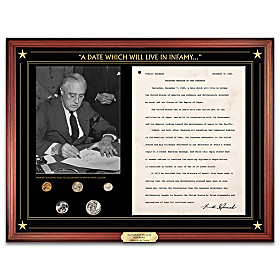 The Franklin D. Roosevelt Pearl Harbor Address Wall Decor