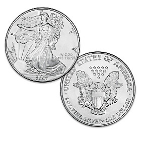 The Last-Ever Original Silver Eagle Dollar Coin