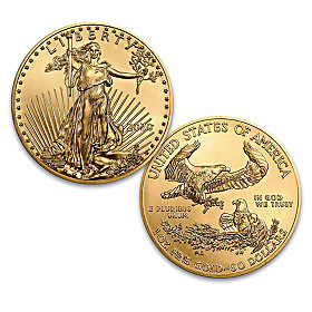 The 2020 American Gold Eagle One Ounce Coin