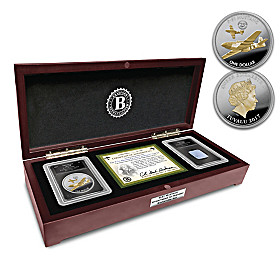 The P-51 Mustang Eyewitness To History Coin Set