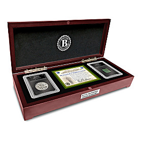 The Genuine B-17 Artifact & Coin Set