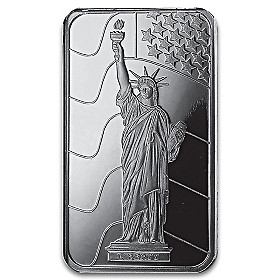 The Ultimate Silver Tribute To Lady Liberty Ingot