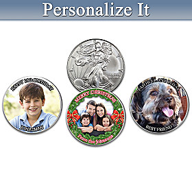 The Personalized American Silver Eagle Coin