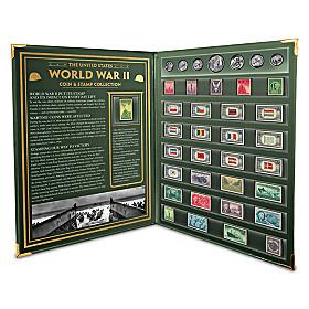 United States World War II Coin & Stamp Set