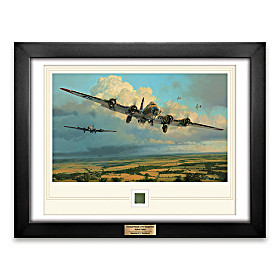 Thunderheads Over Ridgewell Limited Art Print