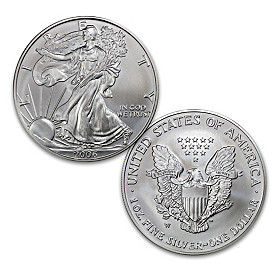 The First Burnished Finish American Silver Eagle Coin