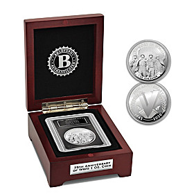 The 75th Anniversary Of Victory In WWII Silver Proof