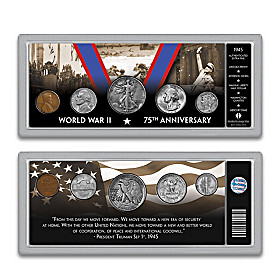 The Complete 1945 WWII Victory Coin Set