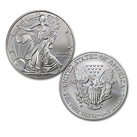 2020 First Strike American Eagle Silver Dollar Coin